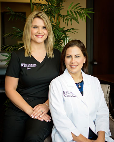 Dr. Saucier at Rockwall Dermatology